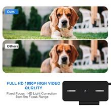 Digital External Webcam Camera for Video Call Laptop PC Computer Accessories 1080p VH99