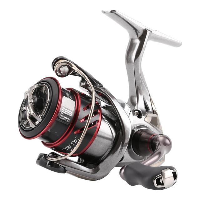 SHIMANO STRADIC CI4 بكرة صيد السمك بكرة الضحلة C2000S C2000HGS 2500S 2500HGS بكرة X SHIP HAGANE الجسم صيد السمك