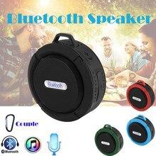 C6 Мини Портативный беспроводной Bluetooth водонепроницаемый стерео звук динамик открытый