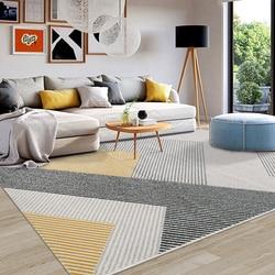 Nordic Ins dywany do salonu zwięzły geometryczny dywan sypialnia dywaniki do domu gruby polipropylen Sofa mata na stół do kawy w Dywany od Dom i ogród na