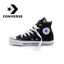 Converse All-star Skateboard Shoes Men's Classic Unisex Canvas High-top Women's Sneakers Comfortable and Durable Models 101010(China)