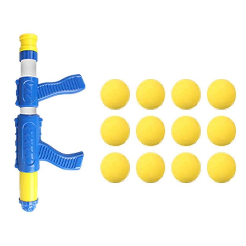 Air Pump Shoot Electronic Scoring Dynamic Music Eva Foam Ball Funny Novel Toys For Children Toy