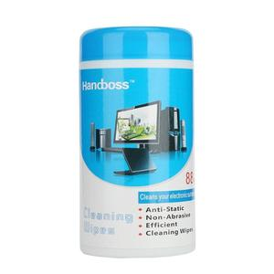88pcs Clean Wipe Screen Disinfection Wet Wipes Camera Computer LCD Phone Monitor Wipe Cloth Bucket Decontamination Sterilization