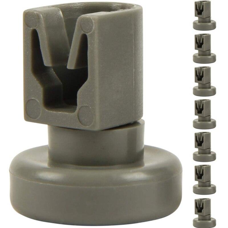 8 Upper Basket Rollers For Dishwasher (1 Set), Suitable Basket Rolls As Accessory / Spare For Dishwasher From Aeg Favorit, Privi