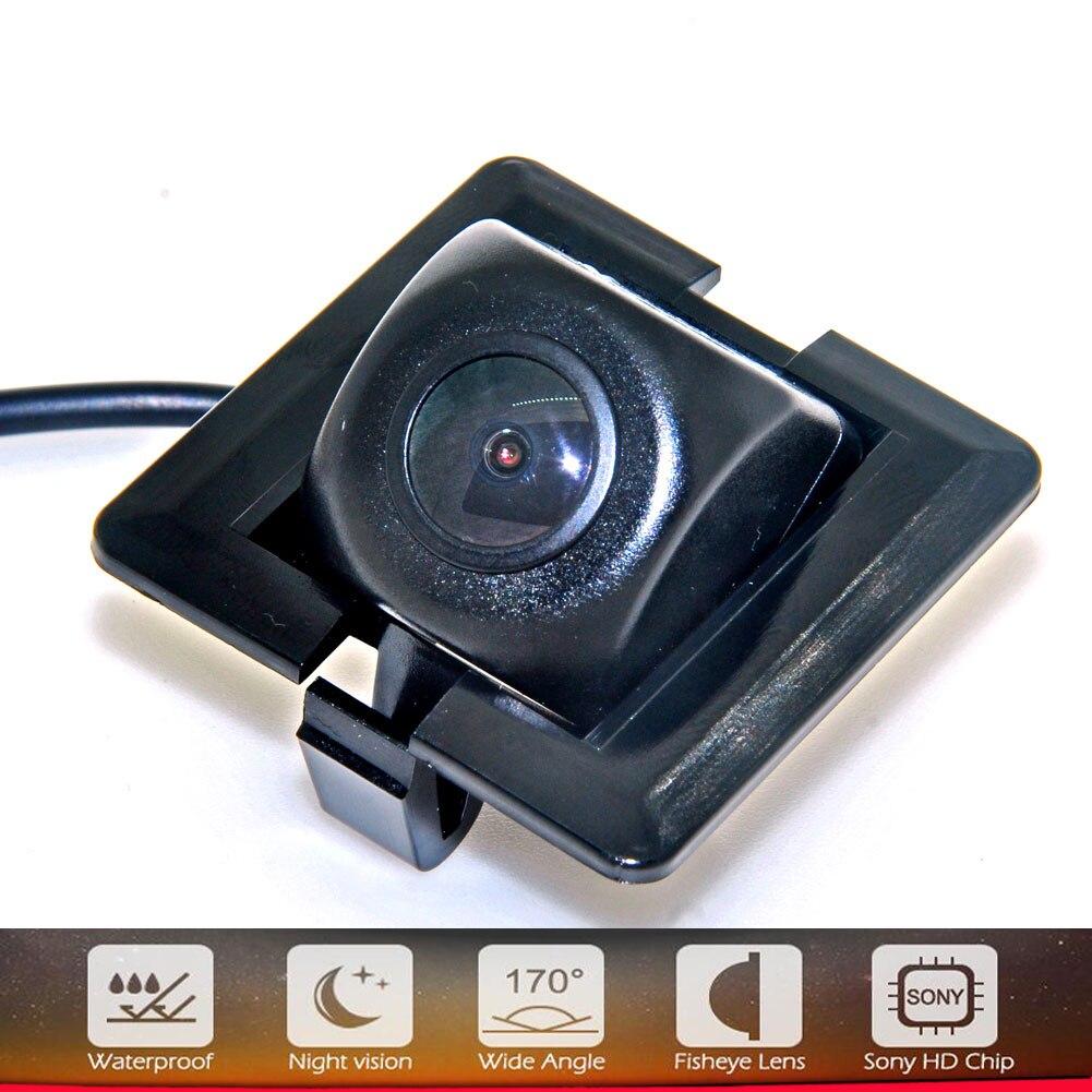 HD 170 градусов 1080P рыбий глаз sony/CCD объектив звездный свет; ночное зрение Автомобильная камера заднего вида для Toyota Prado 150