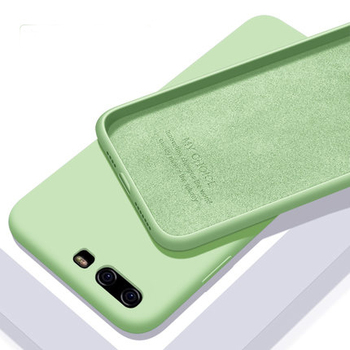For Huawei P10 Plus Case Soft Liquid Silicone Slim Skin Protective back cover case for huawei P10 Li