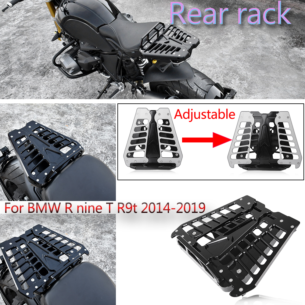 Motorcycle RNINET 2015 2016 2017 2018 Rear Luggage Bracket Carrier Board Rack Holder Solo Seat For BMW R Nine T R9T 2014-2019