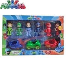 Ensemble de masques PJ, personnages de dessins animés, Catboy OwlGilrs Gekko, jouets d'extérieur, cadeau pour enfants