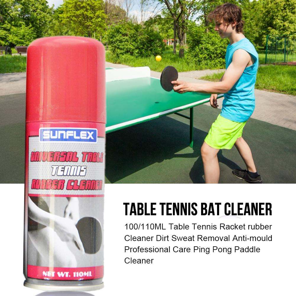 110ML Table Tennis Racket Rubber Cleaner Dirt Sweat Removal Anti-mould Professional Speed Liquid For School Office Accessories