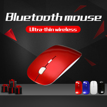 4 Colors Slim Bluetooth 3.0 10m 1000-1800DPI Wireless Mouse for Windows Computer PC Laptop
