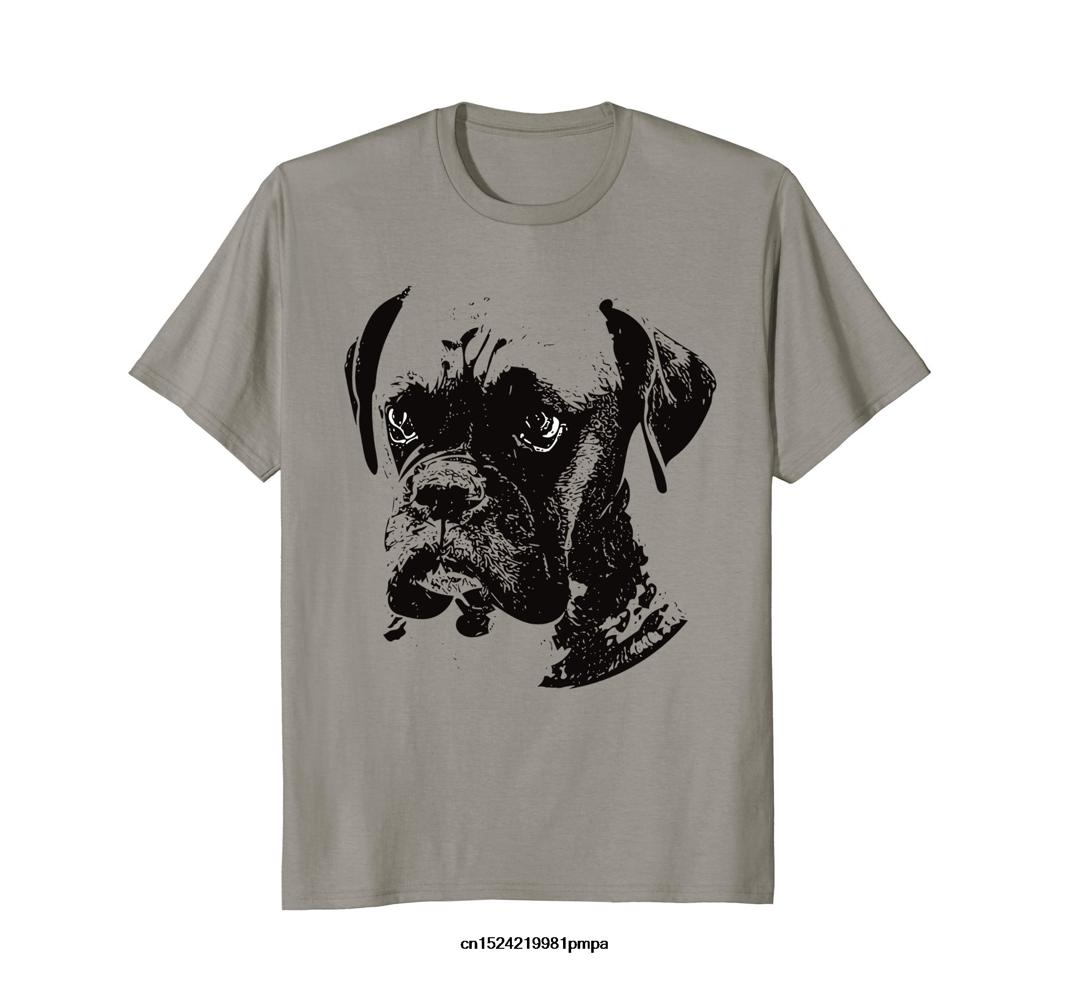 Funny t shirt men novelty women tshirt Boxer Dog T-Shirt