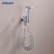Shower Faucets brass bathroom bidet toilet sprayer Bidet toilet washer mixer shower ducha higienico bidet spray. цена 2017