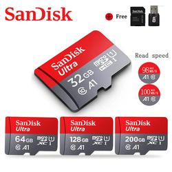 Sandisk Ultra Micro SD 64GB 128GB 256GB 400GB 16G 32GB Micro SD Card SD/TF Flash Card Memory Card 32 64 128 gb microSD for Phone