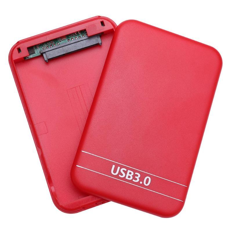 עגלות פג HDD Case 2.5 Portable אינץ SATA 2 ל USB 3.0 מארז 6Gbps החיצוני SSD הכונן הקשיח Box עבור Windows 98 / SE / ME / 2000 / XP / Vista (5)