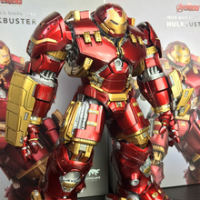 Avengers Armor Iron Man Mark Xliv Hulkbuster 29CM 1/12  Mk44 Alloy Mech Model Action Figure Toy