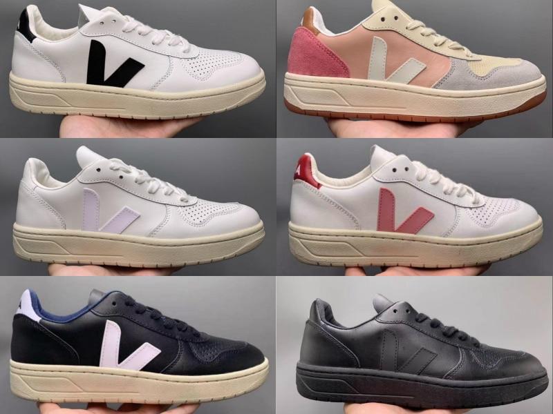 France Send VEJA Genuine Leather Run