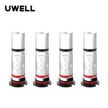 4 قطعة/الحزمة Uwell Valyrian استبدال قرنة لفائف 1.0/0.6ohm MTL/DTL ل Valyrian قرنة الإلكترونية السجائر Vape لفائف