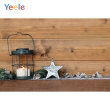 Yeele Christmas Photocall Ins Wood Lantern Decors Photography Backdrops Personalized Photographic Backgrounds For Photo Studio