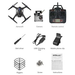 X183S RC Drone with 720P 5G Camera Headless Mode Altitude Hold One Key Return Mini Remote Control GPS Quadrocopter