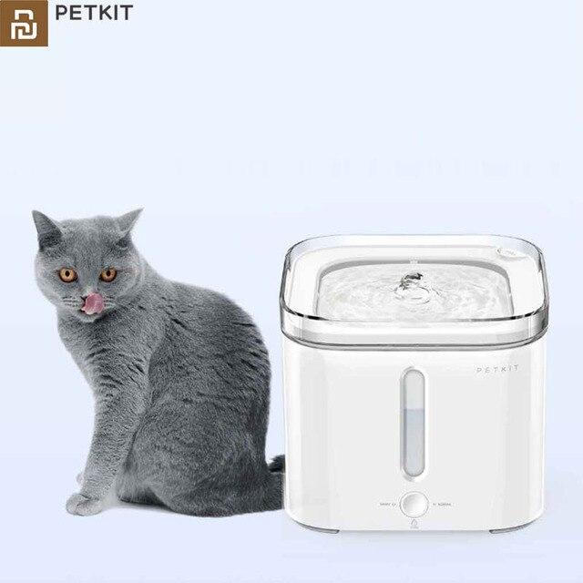 Youpin Petkit Intelligente distributore di acqua 2S Gattino Cucciolo Pet Distributore di Acqua Gatto Soggiorno Fontana di Acqua Automatico Intelligente Cane Bere