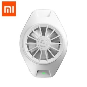 Image 1 - Xiaomi BlackShark fajne chłodzenie z klipsem z tyłu type c Bass Mini urządzenie promieniujące dla Xiaomi iPhone Huawei Sumsung telefon komórkowy