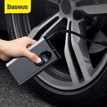 BASEUS – Pompe de gonflage à air, portable, avec capteur de pression de pneu, pour vélo, moto, voiture,, tension 5 volts