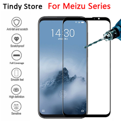 На Алиэкспресс купить стекло для смартфона for meizu 16s pro 16x xs th 15 m15 note 8 9 v8 x8 tempered glass full cover 9h high quality protective film screen protector