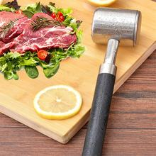 Practical Stainless Steel Steak Pork Chop Quick Pine Needles Tender Meat Hammer Stainless Steel Double Face Tap Mallet Hamme(China)