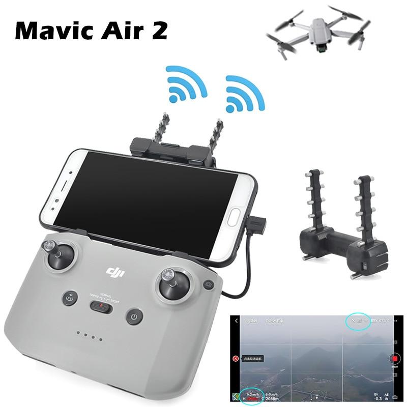 Mavic Air 2 Signal Booster Yagi-Uda Antenna Amplifier Range Extender Transmitter For DJI Remote Control Drone Accessories