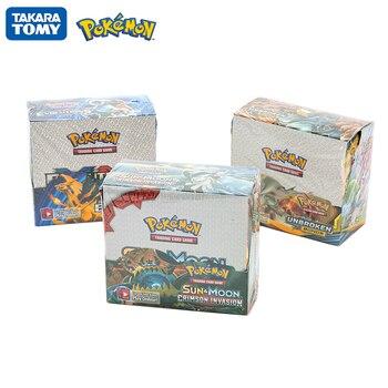 324Pcs/Box Pokemon Cards Sun & Moon CRIMSON INVASION UNBROKEN BONDS Evolutions English Trading Card Game Collectible Card Toy a promise unbroken