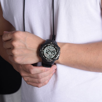 Nowy sportowy wielofunkcyjny wodoodporny zegarek świetlny męski cyfrowy zegarek часы мужские наручные zegarki meskie zegarek meski tanie i dobre opinie Sanwony Z włókna węglowego CN (pochodzenie) 24cm 3Bar simple Zapięcie bransolety ROUND Szkło stoper Kompletny kalendarz