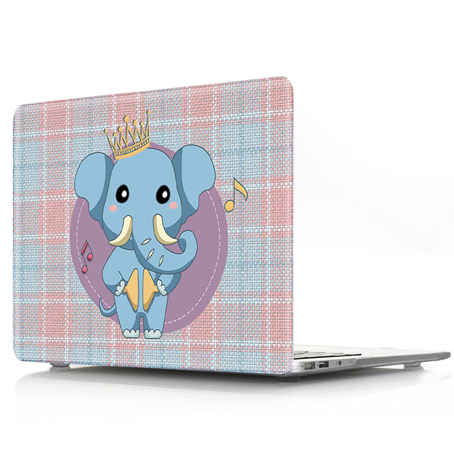 Raffiti Animal Pattern Case for MacBook 2