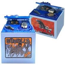 Gojira-caja de monedas automática para decoración del hogar, Gojira original de Anime, regalo para niños