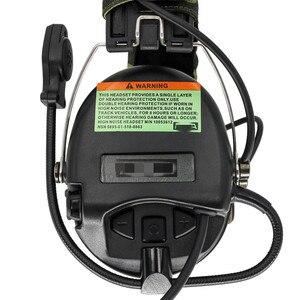 Image 2 - Électronique tactique SORDIN casque de tir réduction du bruit pick up pistolet à Air militaire casque tactique Softair BK