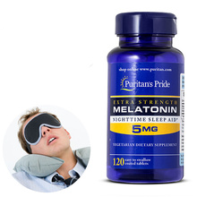 Melatonin 5 mg 120 Earl help night sleep free delivery /2bottles