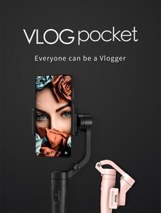 Image 3 - связаться со службой поддержки получить купон Смартфон 3 осевой карманный стабилизатор для iPhone Samsung GoPro 7 6 ПК Vilta m OSMO Action Freevision Vilta m Pro