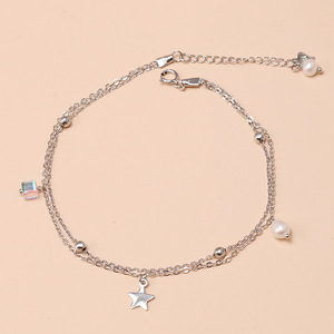 925 Sterling Silver Star Doubl