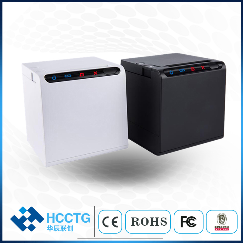High Quality 80mm Thermal Receipt Bill Printers USB+LAN+WIFI+Bluetooth For Kitchen Restaurant POS Printer With Automatic Cutter
