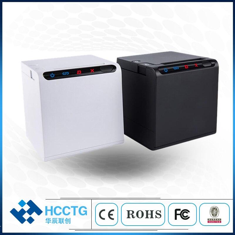 Hohe qualität 80mm thermische erhalt bill drucker USB + LAN + WIFI + Bluetooth Für Küche Restaurant POS drucker mit automatische cutter