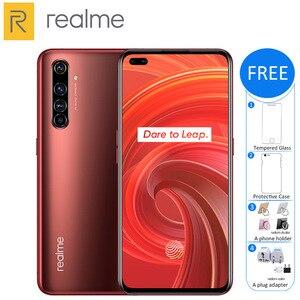 Оригинальный Realme X50 Pro 5G мобильный телефон 8 ГБ ОЗУ 256 Гб ПЗУ Snapdragon 865 4200 мАч 65 Вт Quad Camera 64MP NFC 5G смартфон