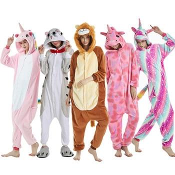 Kigurumi Adult Unicorn killumi Pajama, female animal cat monkey, cartoon Pajama unicorn, Pajama, pajama фото