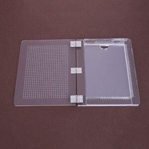 Image 4 - 25.5*21cm DIY Seal Stamp Block For Scrapbooking  Transparent Handle High Transparency Acrylic Pad Holder DIY Decoration Tools