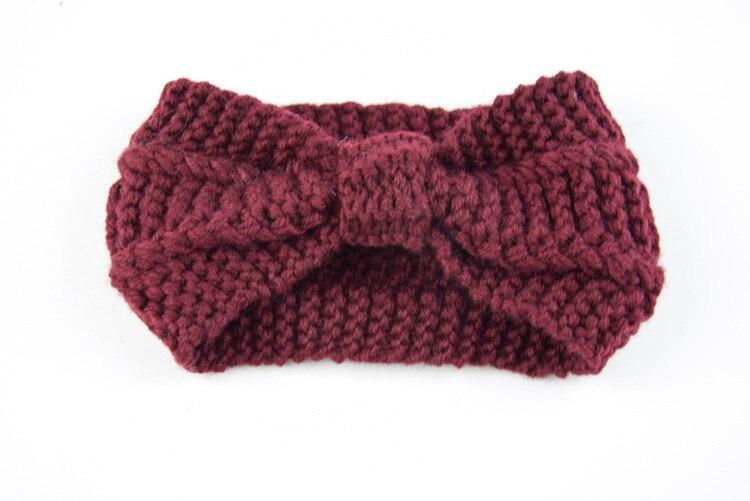 Шерстяные женские Зимние береты, роскошные бархатные винтажные кашемировые женские теплые модные береты, шапки для девушек, плоская кепка, берет для женщин - Цвет: Headband