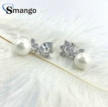 5pairs,Pearl Dangle Earrings, Women Fashion Jewelry, Swarovski Pearl Setting, Butterfly Shape,Can Wholesale цена