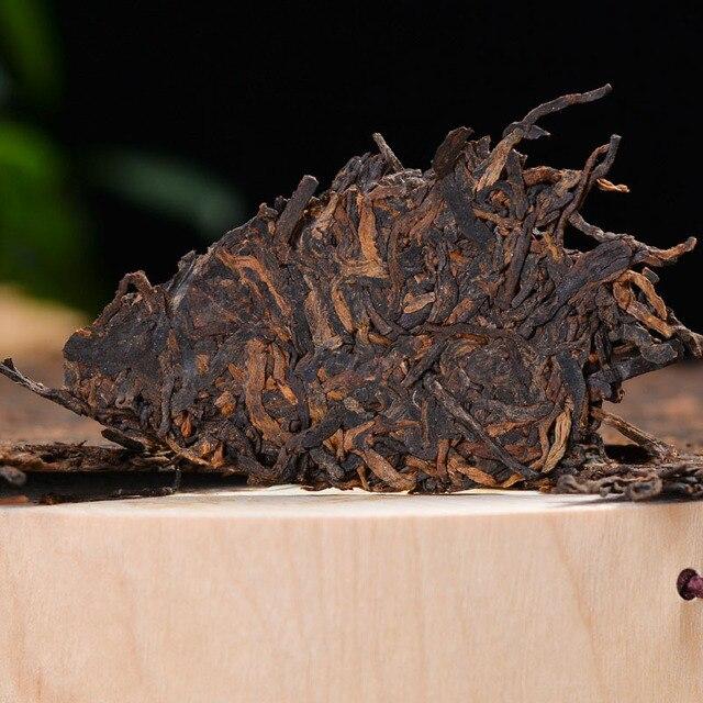 Yunnan Puer herbata dojrzała herbata ciasto 100g siedem nasion ciasto latające ciasto herbata 2012 dojrzałe ciasto herbaty