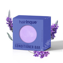 Hairinque orgânico artesanal lavanda condicionador de cabelo barra sólido sabão nutrir e fazer brilho do cabelo portátil para viagens
