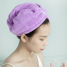 Dryer-Towel Hair Bath-Wrap-Hat Shower-Cap Hairdressing-Drying Quick-Dry Flannel