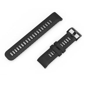 Image 3 - Correa de reloj Original para Xiaomi Huami Amazfit GTR, correa de silicona de 20mm y 22mm de ancho, 42mm y 47mm, Pace Stratos GTS Bip Lite