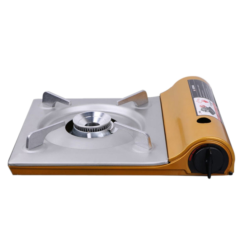 Ultra Thin Outdoor Camp Stove Portable Gas Stove Iron Compact Alcohol Stove Outdoor Cooking Supplies