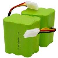 2Pcs/Lot Battery 4500Mah 7.2V For Neato Xv 21 Xv 11 Xv 15 Xv 14 Xv 24 Xv 12 Pro Robot Robotic Vacuum Cleaner Accessory Parts